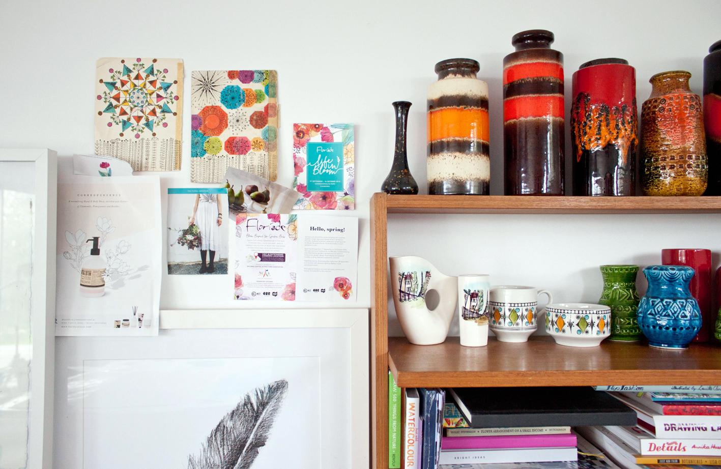 Australia artist studio visit Shani Nottingham - The Corner Store Gallery