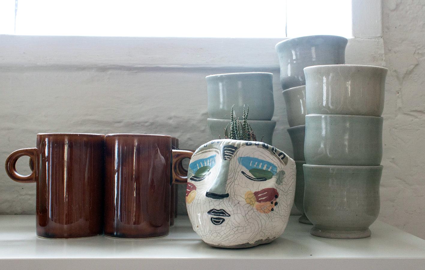 handmade planter by  Ellie Hannon