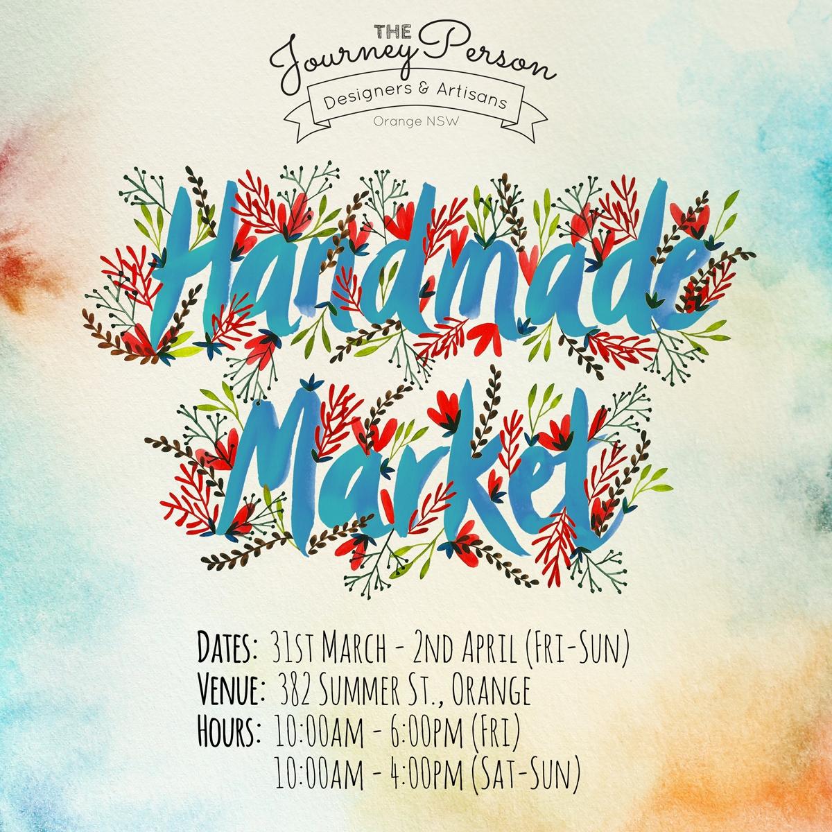 The Journey Person Handmade Market - Orange FOOD Week 2017