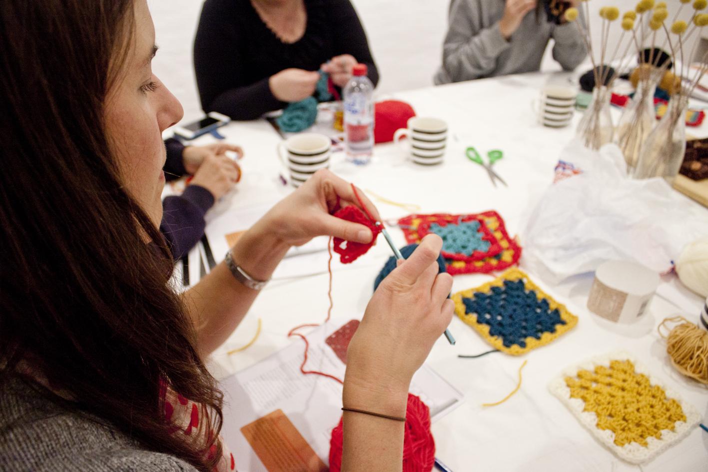 Beginners Crochet Workshop - The Corner Store Gallery