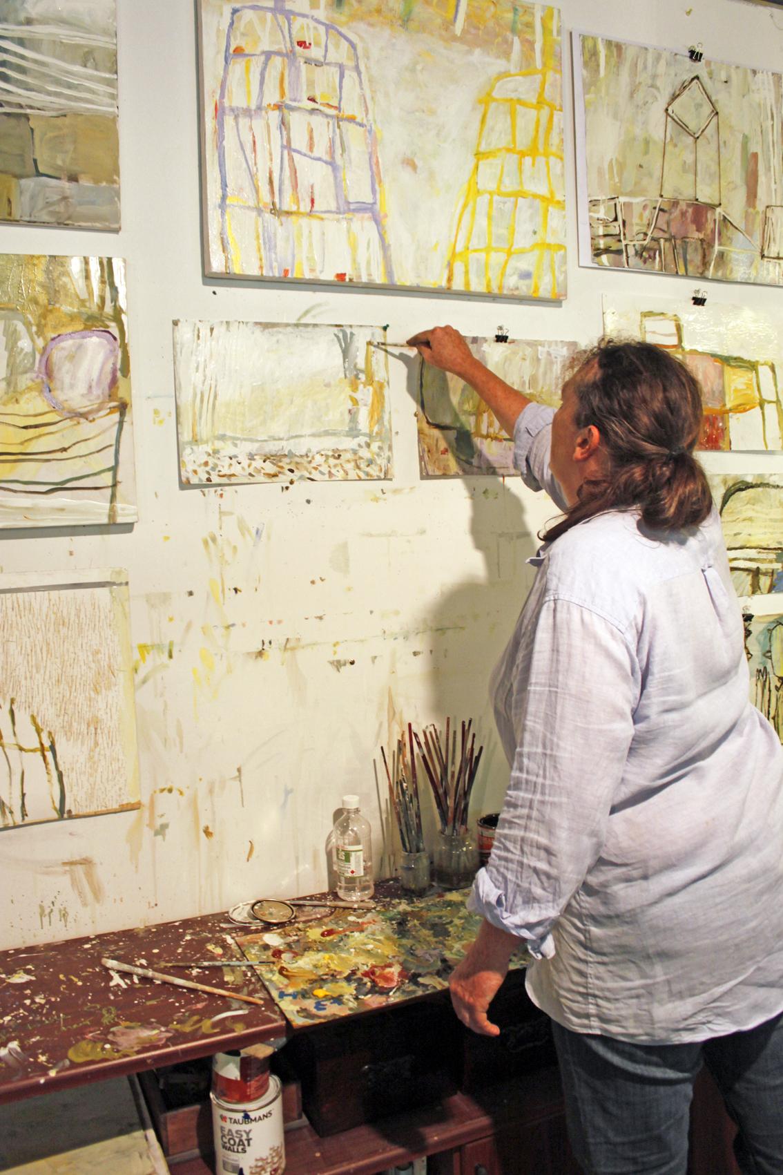 Australian Artist Jaq Davies - The Corner Store Gallery