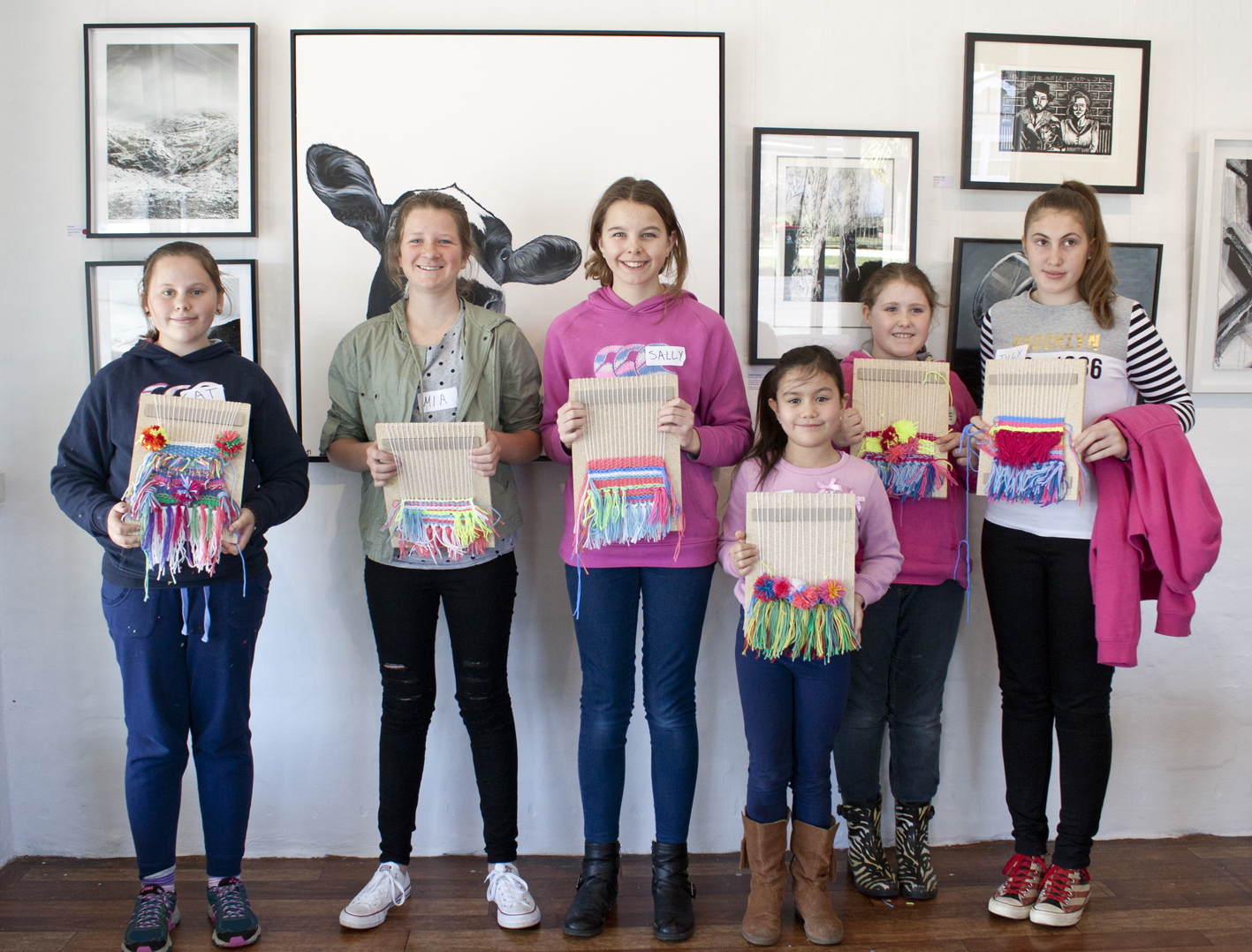 Kids Weaving Workshop - The Corner Store Gallery