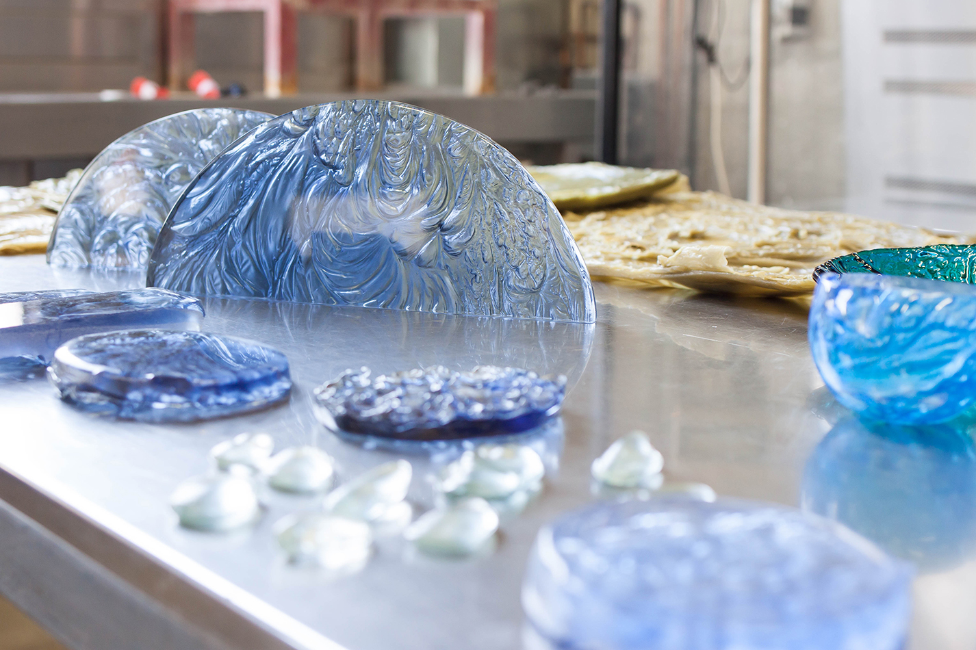 The Corner Store Galley -Studio visit and interview with glass artist Alexandra Frasersmith