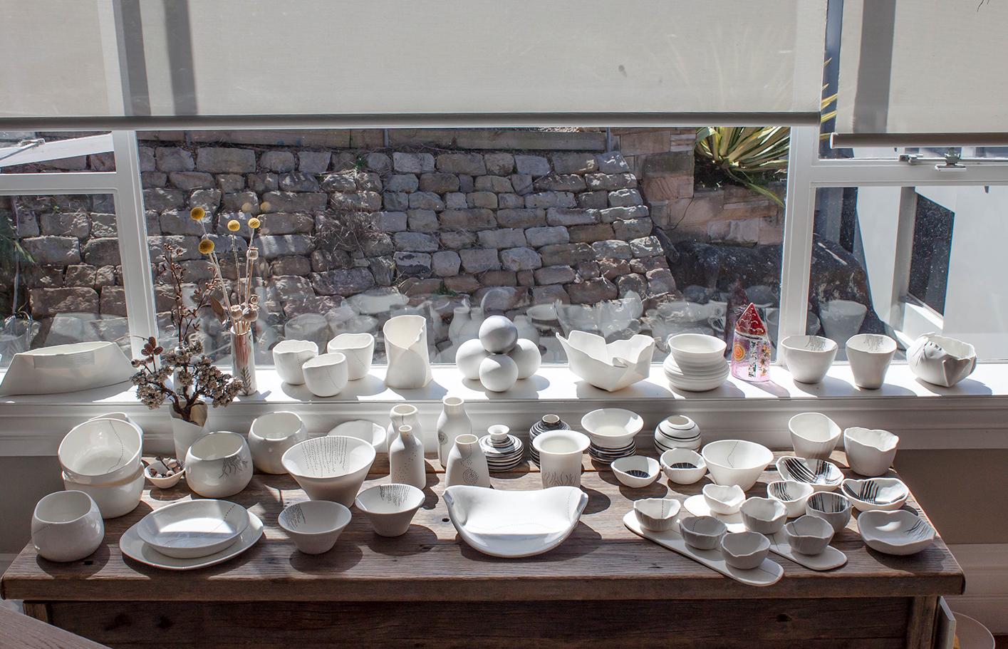 The Corner Store Gallery - Studio Visit with Australian Ceramicist Tracy Dickason of Claypen