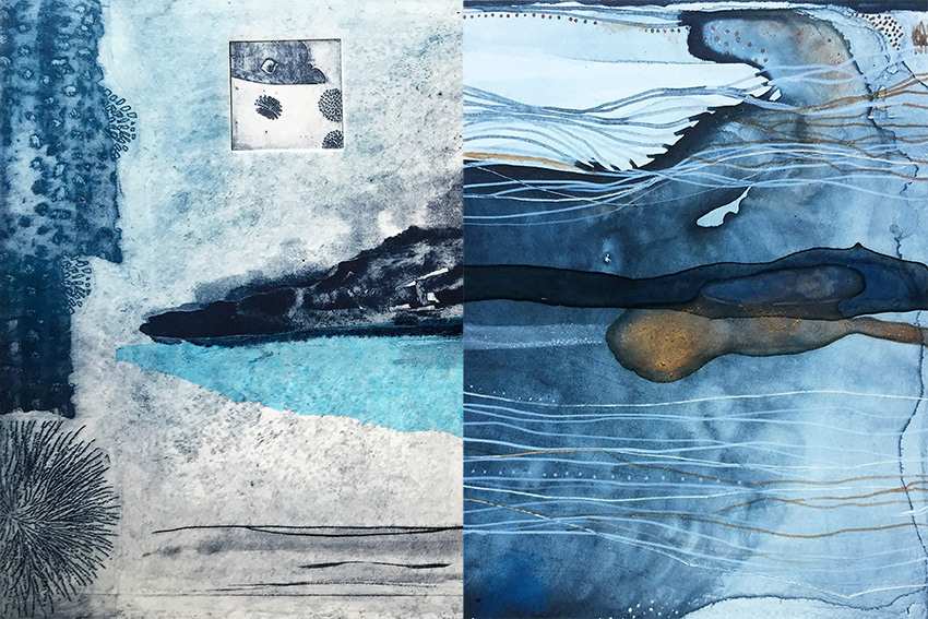 The Corner Store Gallery - Sarah Montgomery and Fiona Chandler