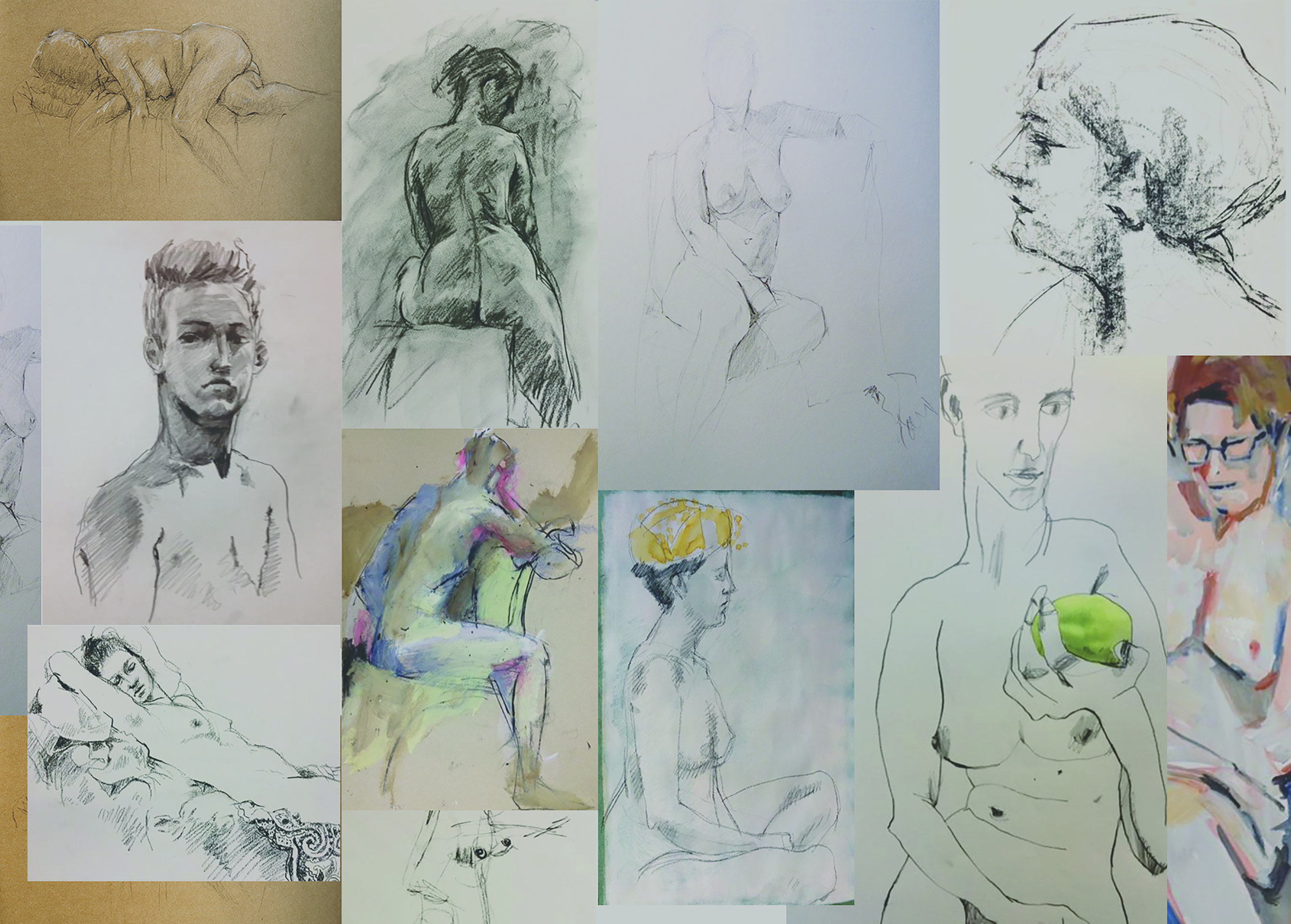 The Corner Store Gallery - Life Drawing Exhibition