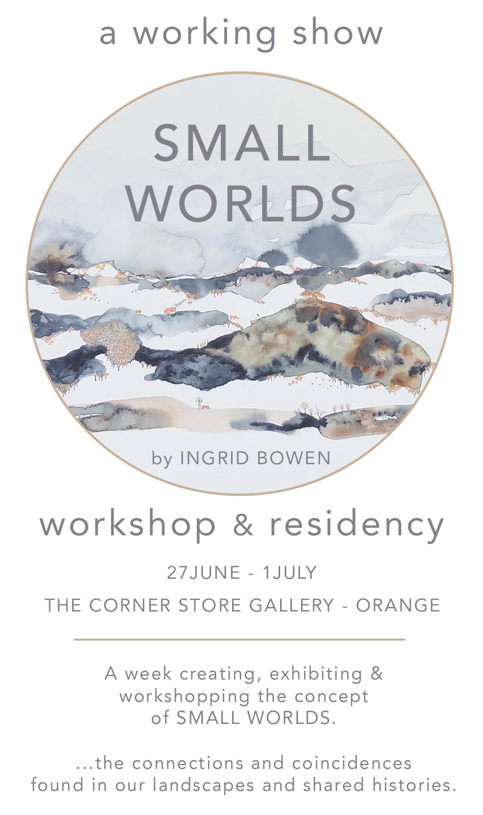Ingrid Bowen - The Corner Store Gallery