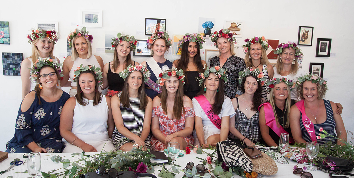 The Corner Store Gallery - Flower Crown Hens' Party