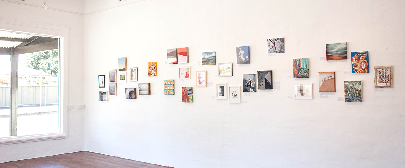 The Corner Store Gallery 8x10 Group Exhibition