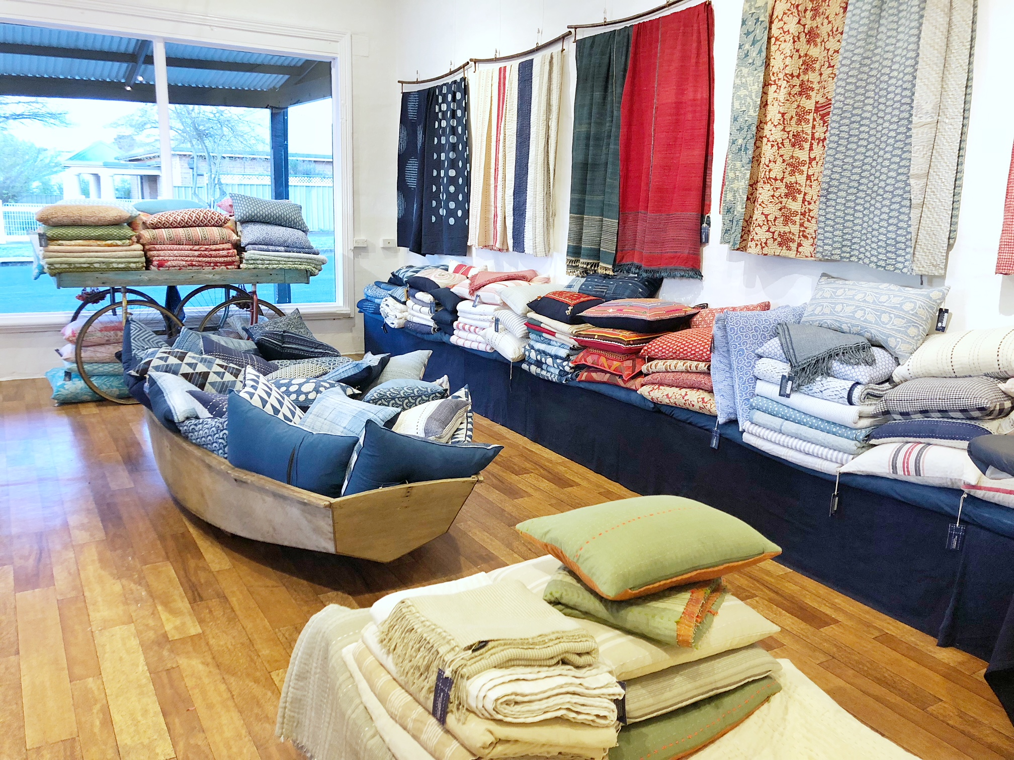 The Corner Store Gallery - Sally Campbell Textiles Popup