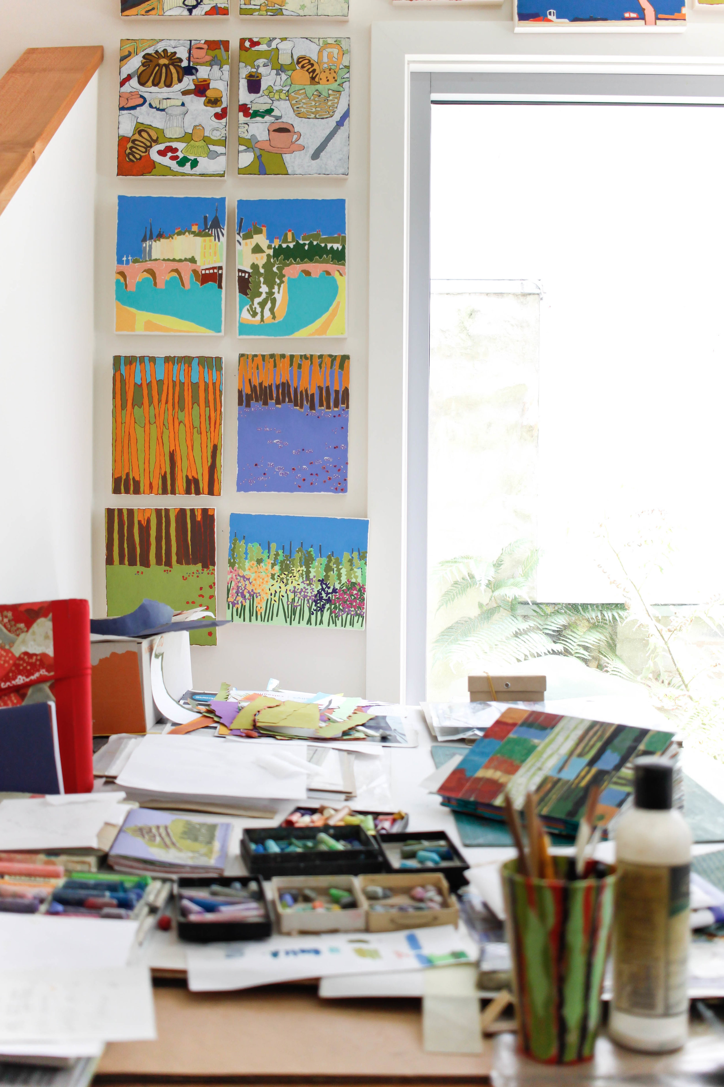 The Corner Store Gallery - studio visit with Australian artist Jan Spencer