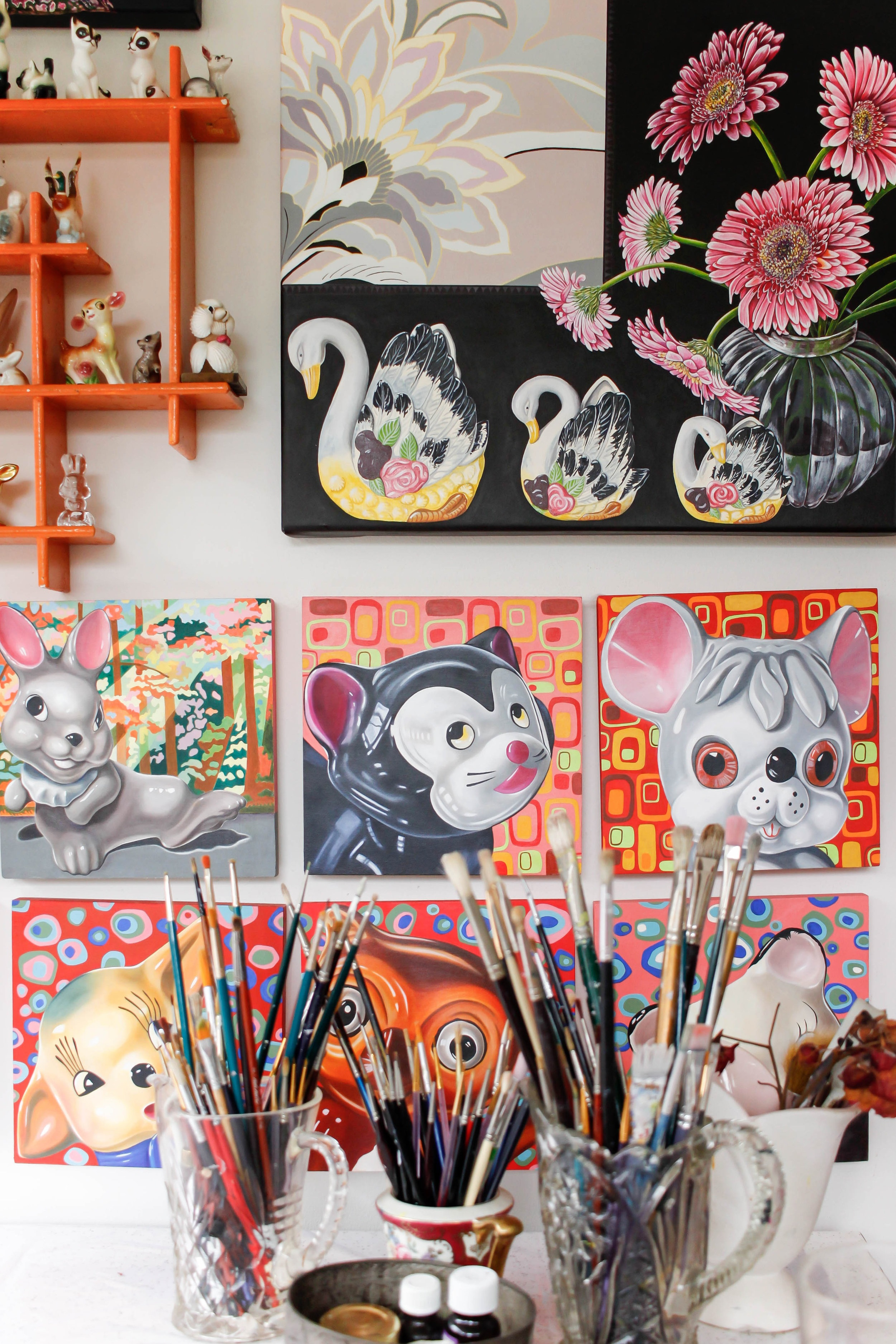 The Corner Store Gallery - studio visit with Genevieve Bessell-Brown