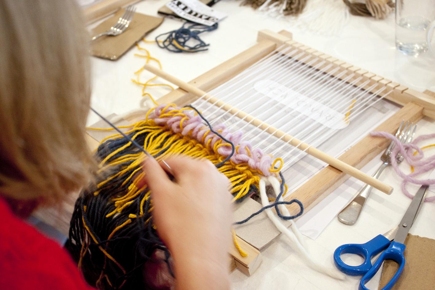 The Corner Store Gallery - Loom Weaving Workshop