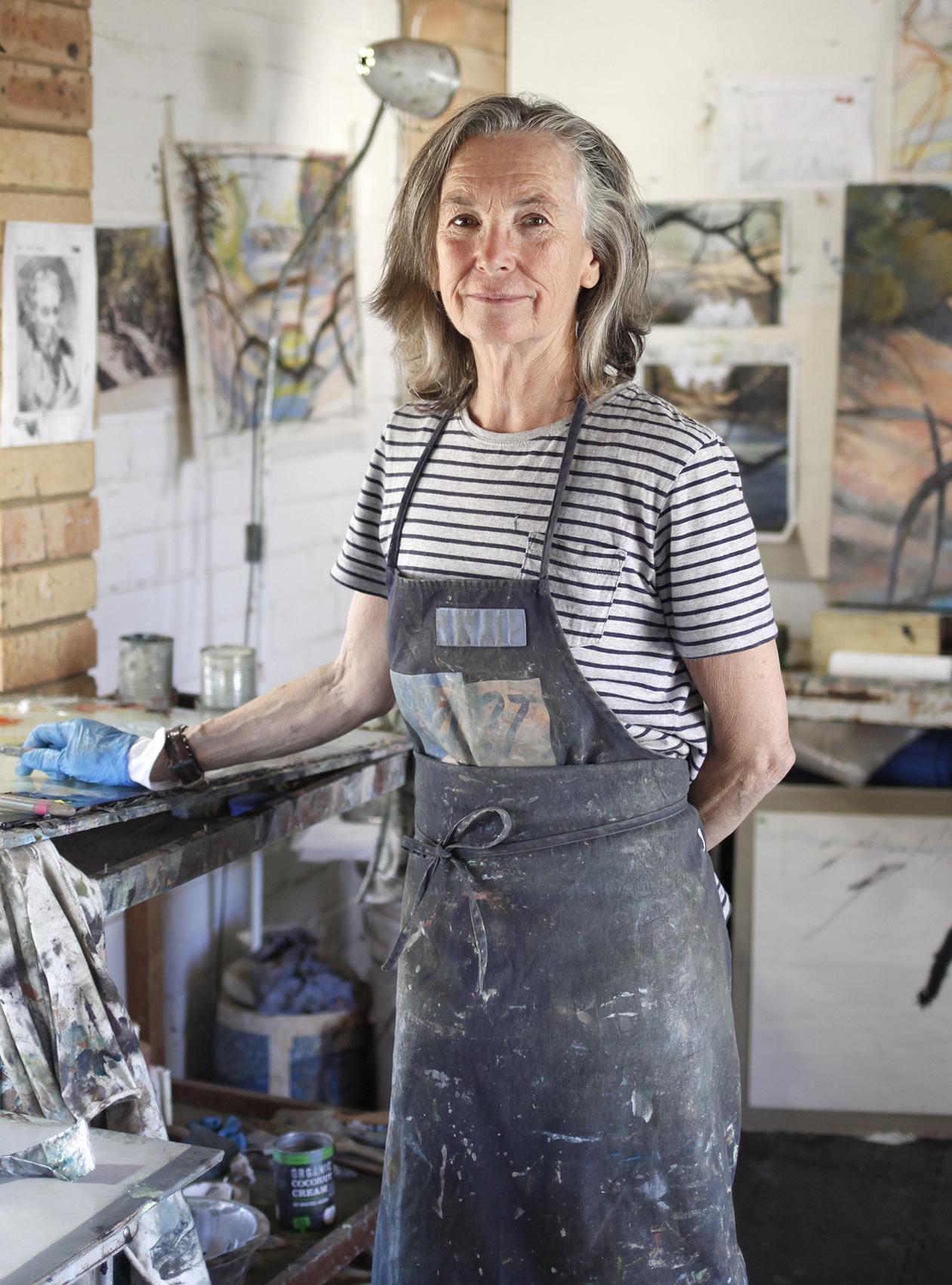 The Corner Store Gallery - studio visit with Ruby Davies
