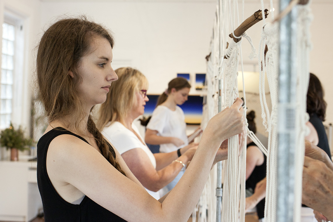 The Corner Store Gallery - Macrame Workshop for Beginners