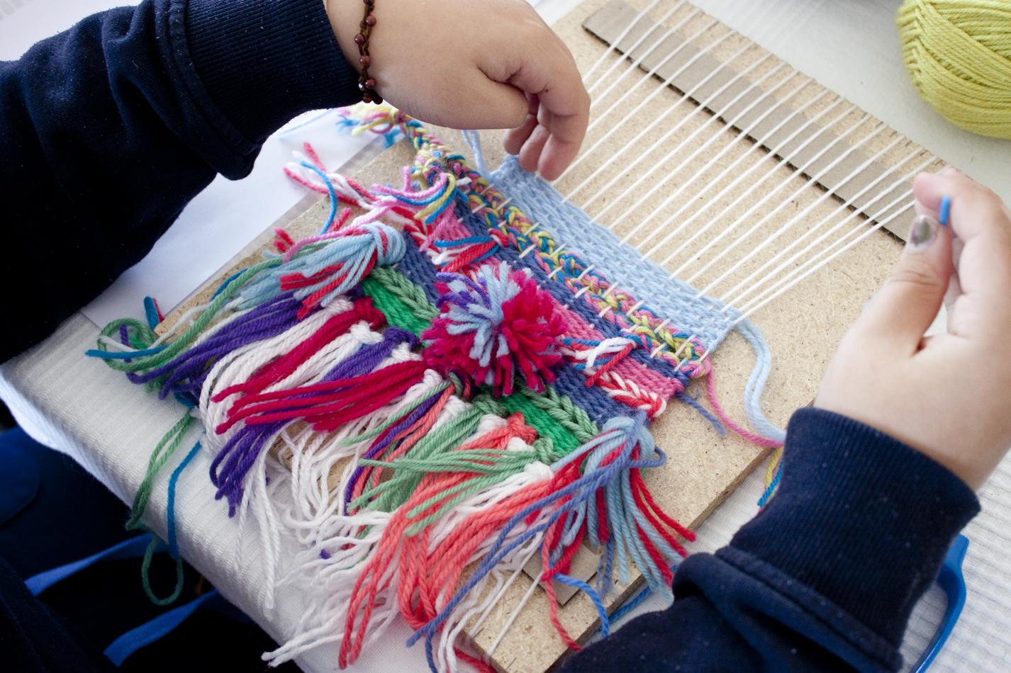 The Corner Store Gallery - Kids Weaving Workshop