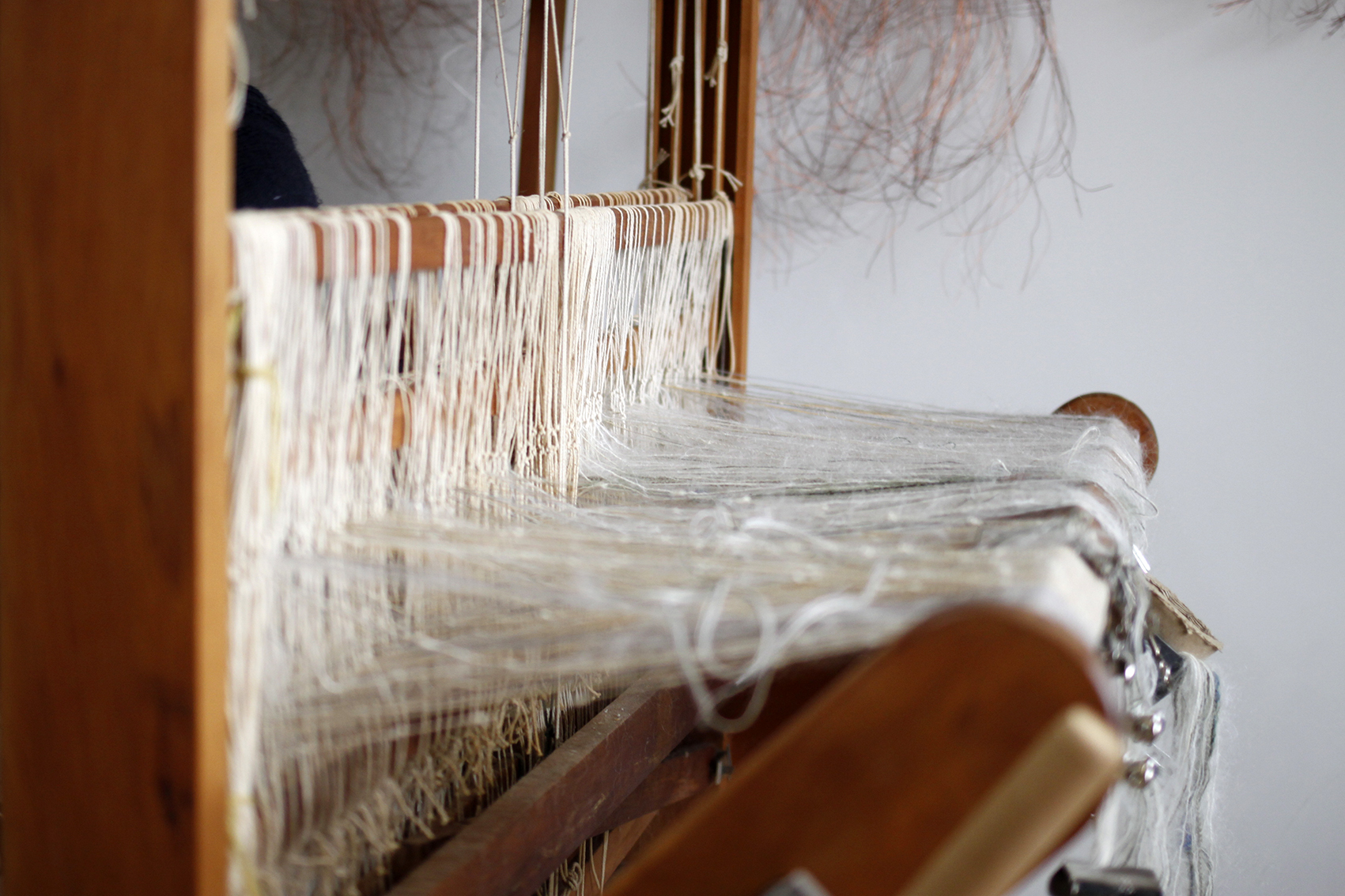 The Corner Store Gallery - studio visit with weaver and textile artist Christine Appleby