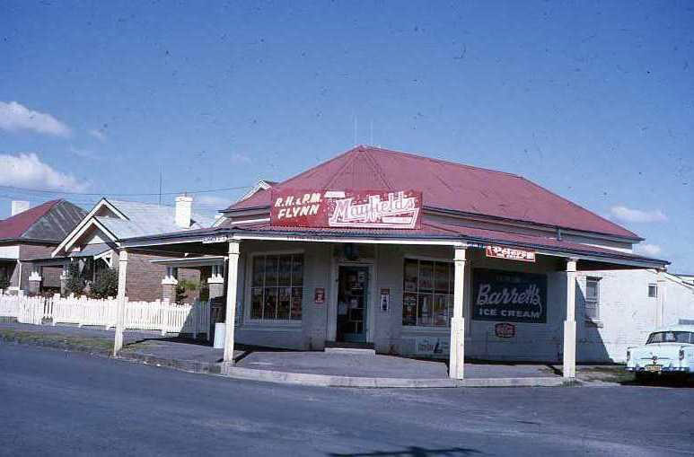 The Corner Store in the 50's or 60's when it was Flynn's Store