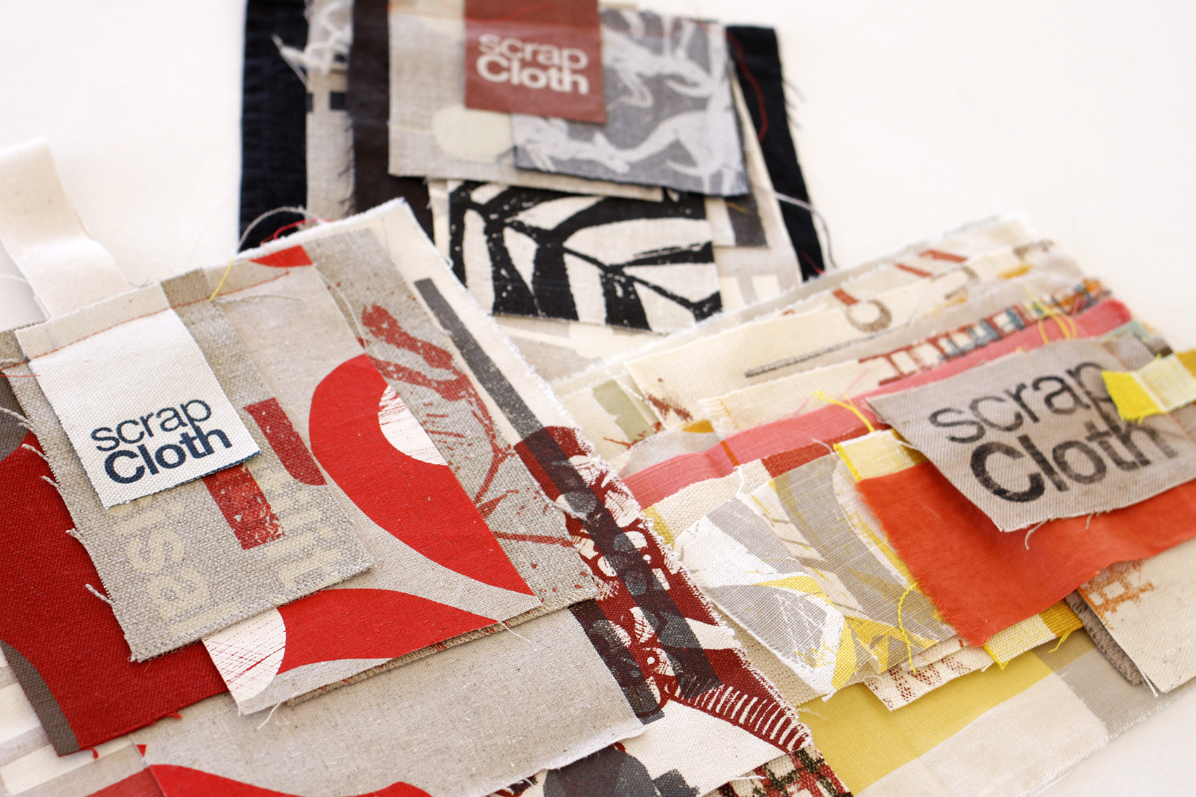 Scrap Cloth DIY Bundles by  Julie Paterson.