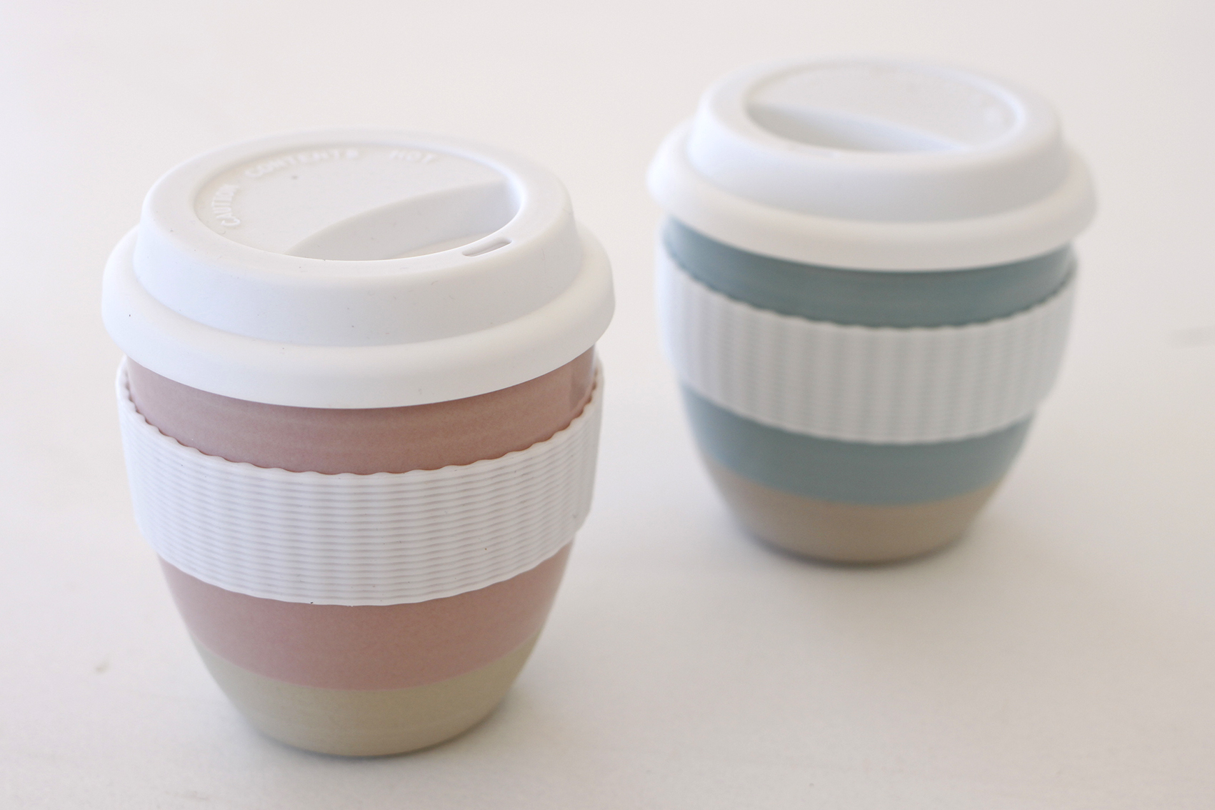 Ceramic Coffee Cups by  Jude Keogh.