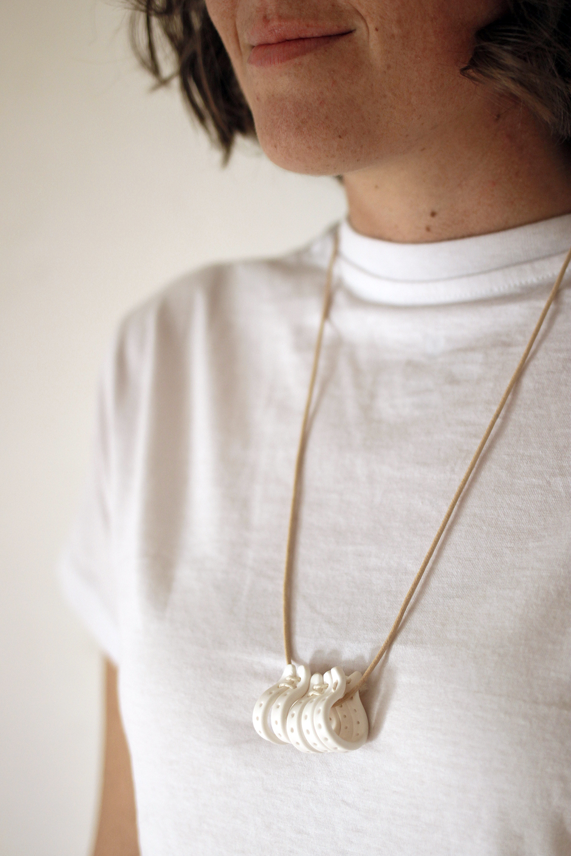 Necklace by  Whimsy Milieu.