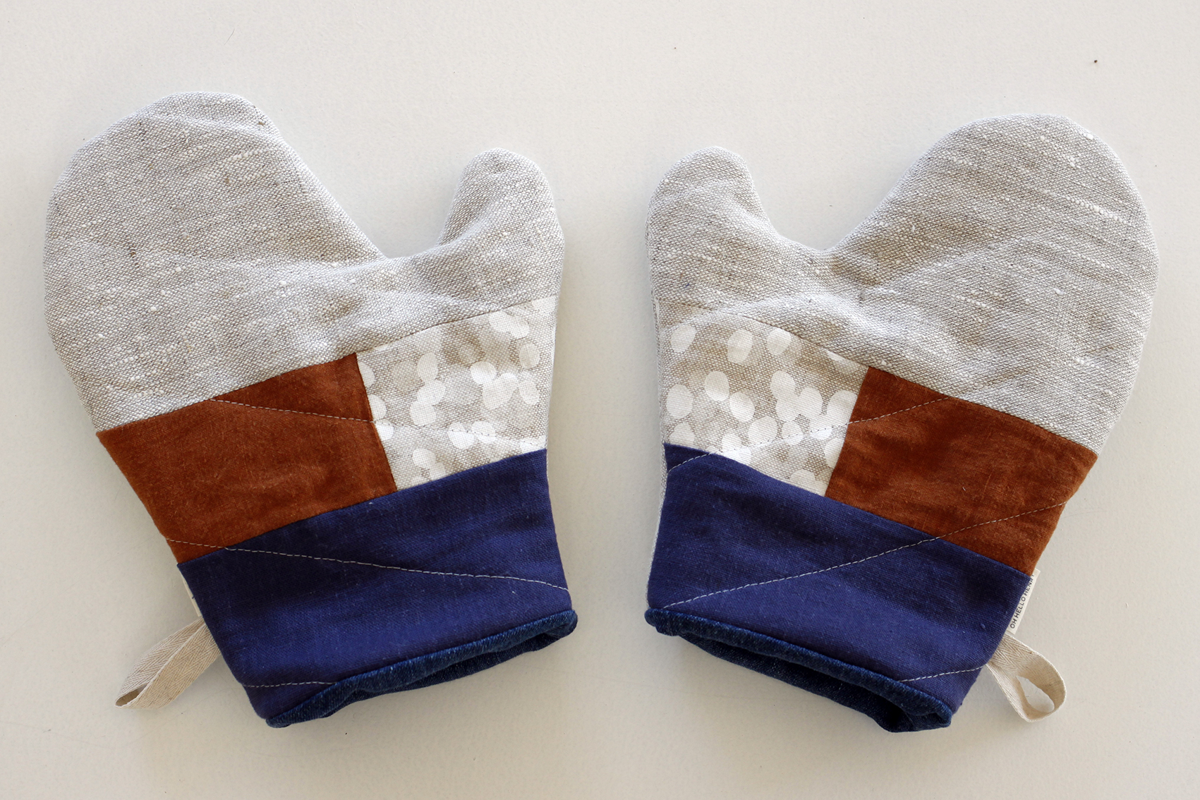 Oven Mitts by  Oh Hello Henry.