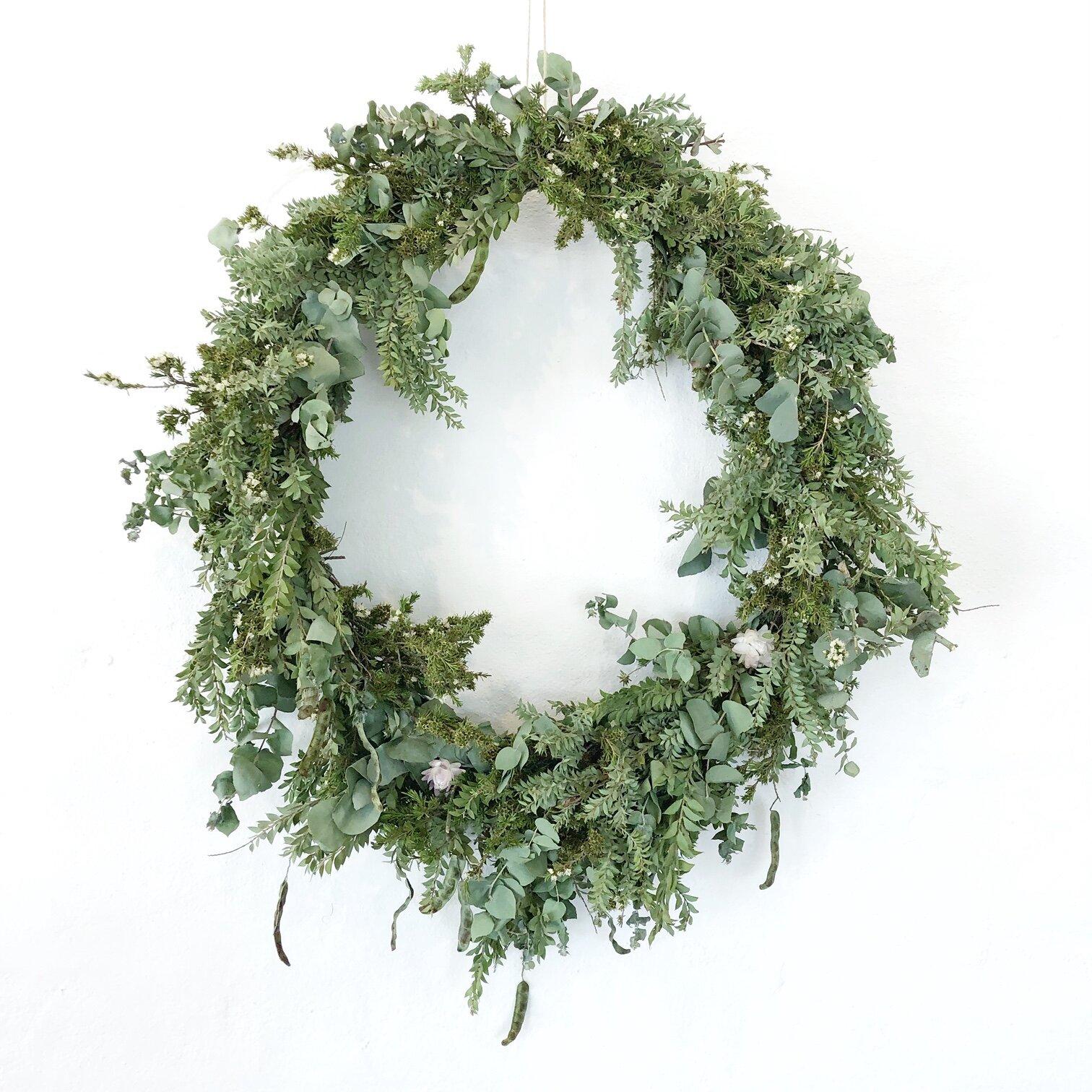 The Corner Store Gallery - Christmas Wreath Workshop