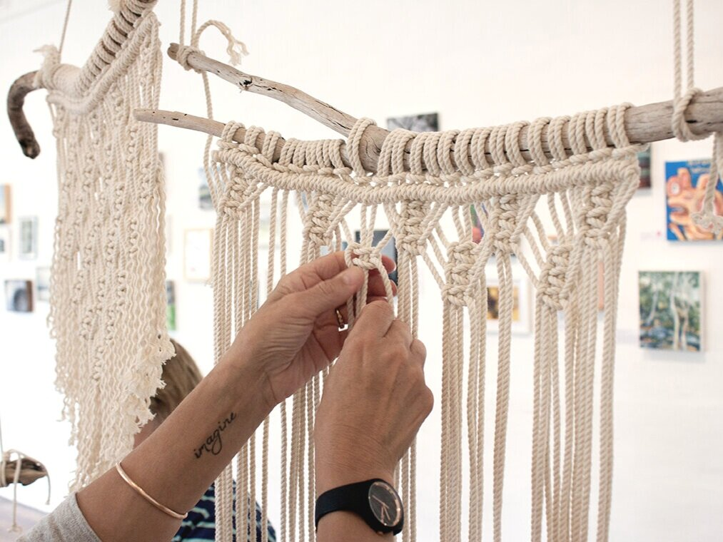 Macrame Wall Hangings - $60 per person, 4-9 people, 2 hours