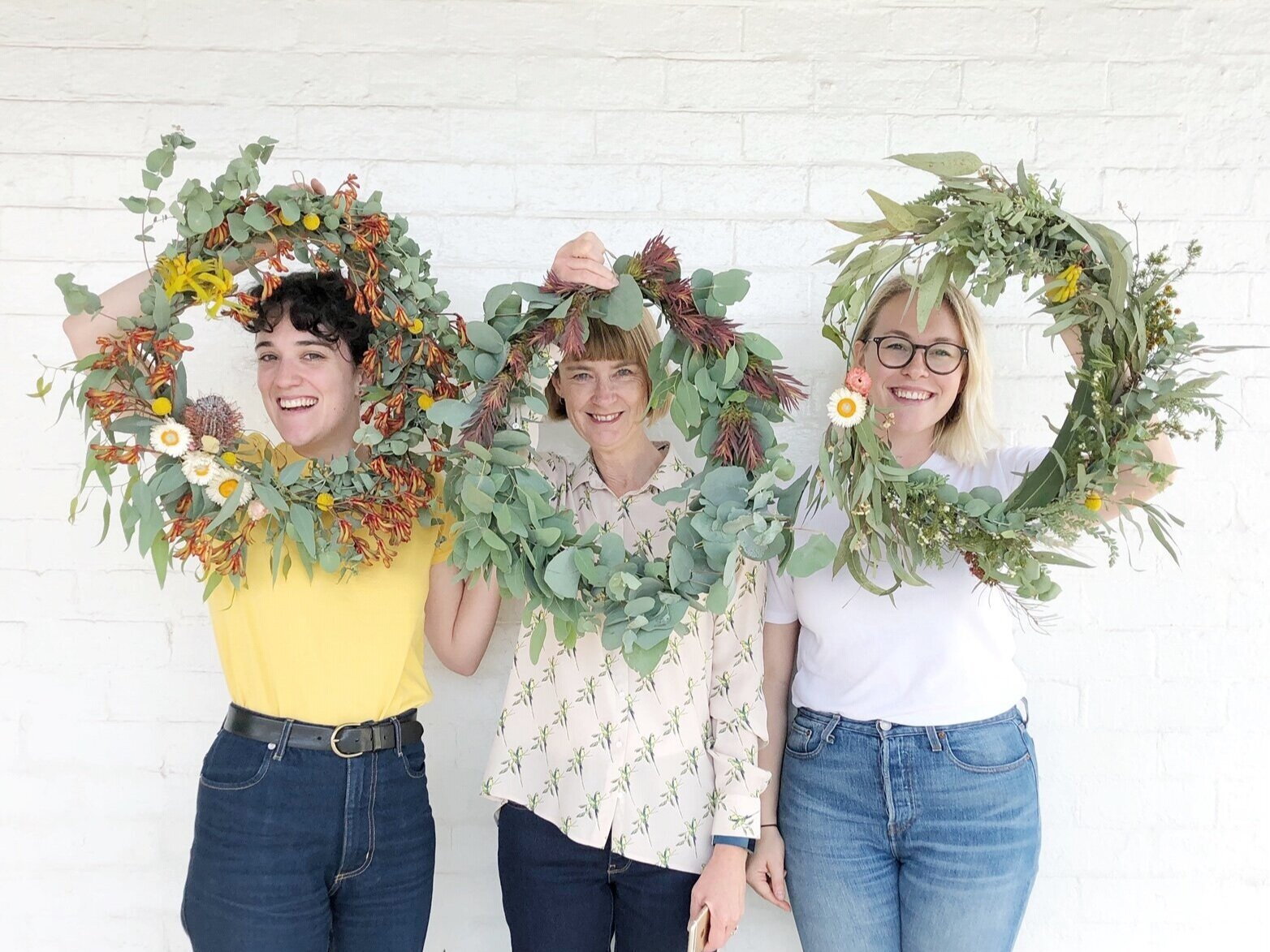 Native Wreath Workshop - $90 per person, 4-12 people, 2 hours