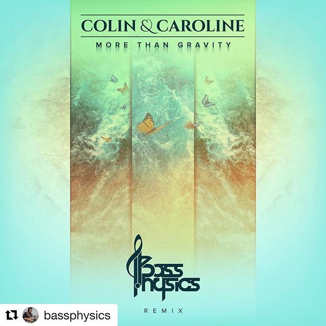 """""""More Than Gravity"""" (Bass Physics Remix) available on May 29th!  Pre-save link in bio  #Repost @bassphysics ・・・ Official remix for @colinandcaroline MAY 29th, this track is beautiful ✨  pre save link in bio 💙"""