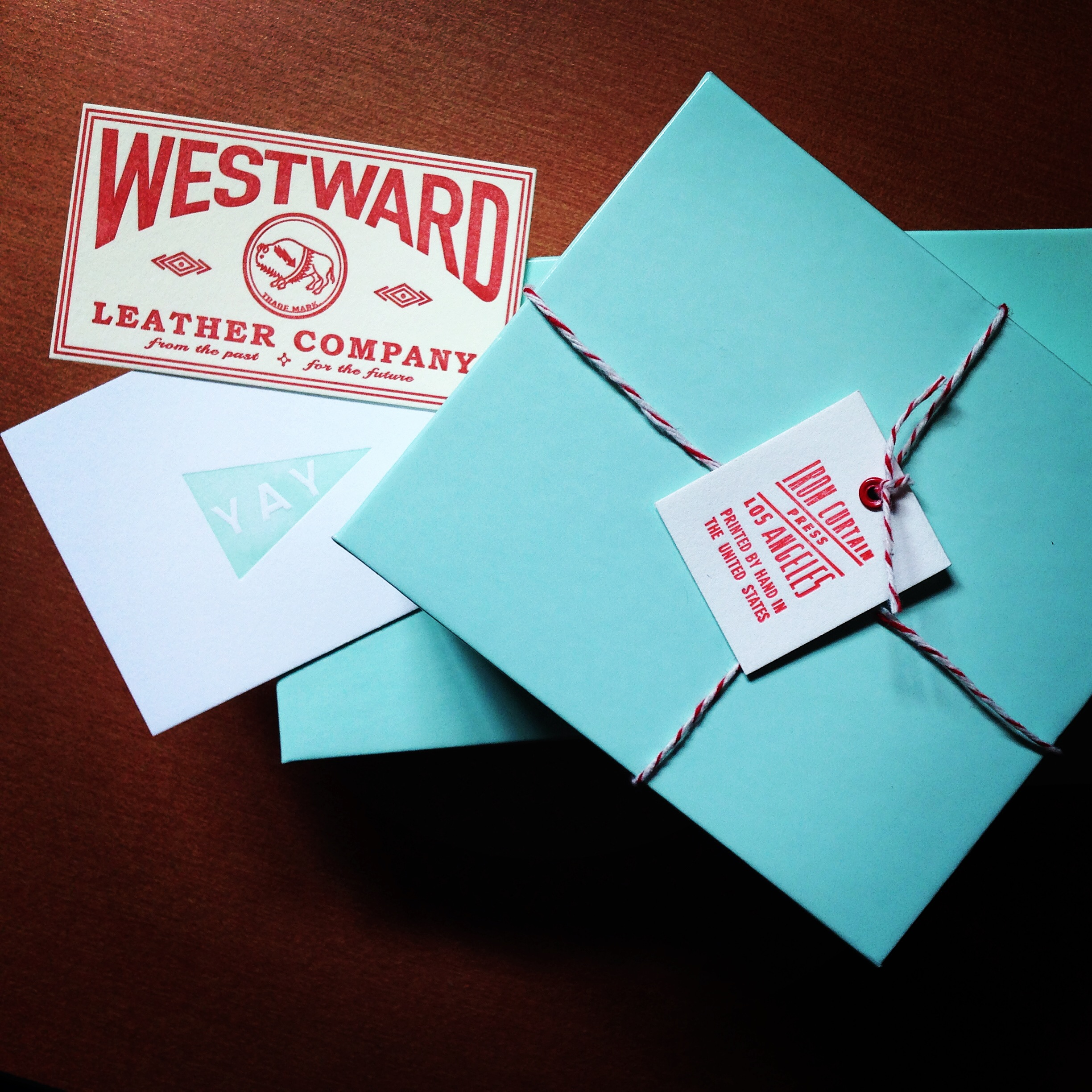 We are just ramping up here at WLC, getting ready to go live with our first product. Very exciting times! And to help kick things off, we got our new business cards, straight off the press, literally. Our good friends at Iron Curtain Press down in LA killed it on these!Thank you!
