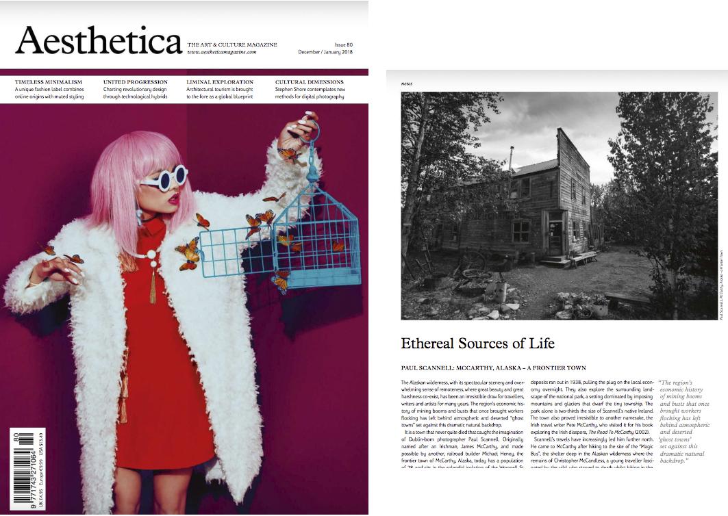 Aesthetic Magazine Feature January 2018