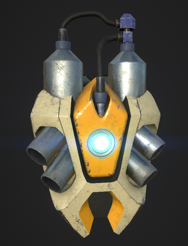 Jetpack Model and Texture - WIP
