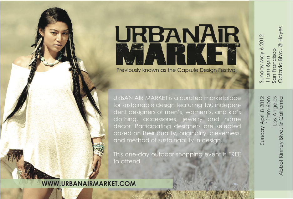 Urban Air Market Promotion Flyer