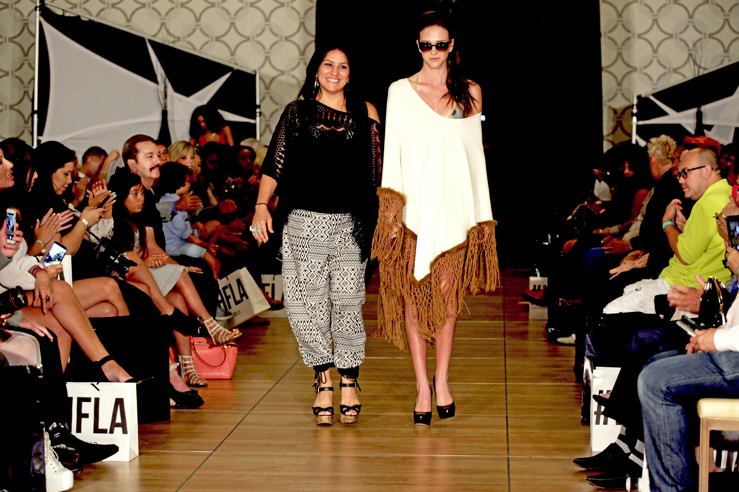 Designer Jen Summers final walk at the  Fashion Designers Expo  for Summer Resort Show 2015