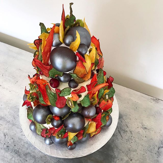 🍃 🌱 🌺🌿Edible Eden 🌼🍃 🌸🌵. Spin the cake it's another bake.  Our cakes very rarely have a 'front' or 'back', you get to decide your favourite side of the three dimensional edible tapestry. Scroll ➡️. Eat Your Art Out.