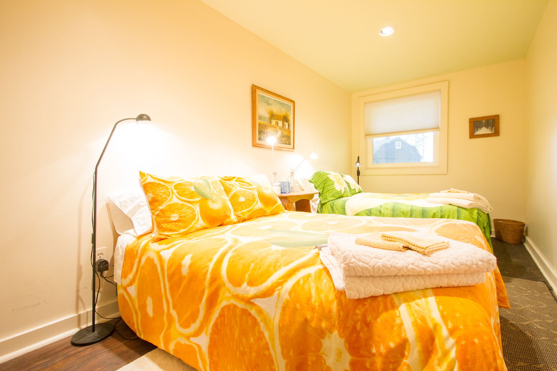 Warrior II Room (Book Private or Share)- 2 Full Beds