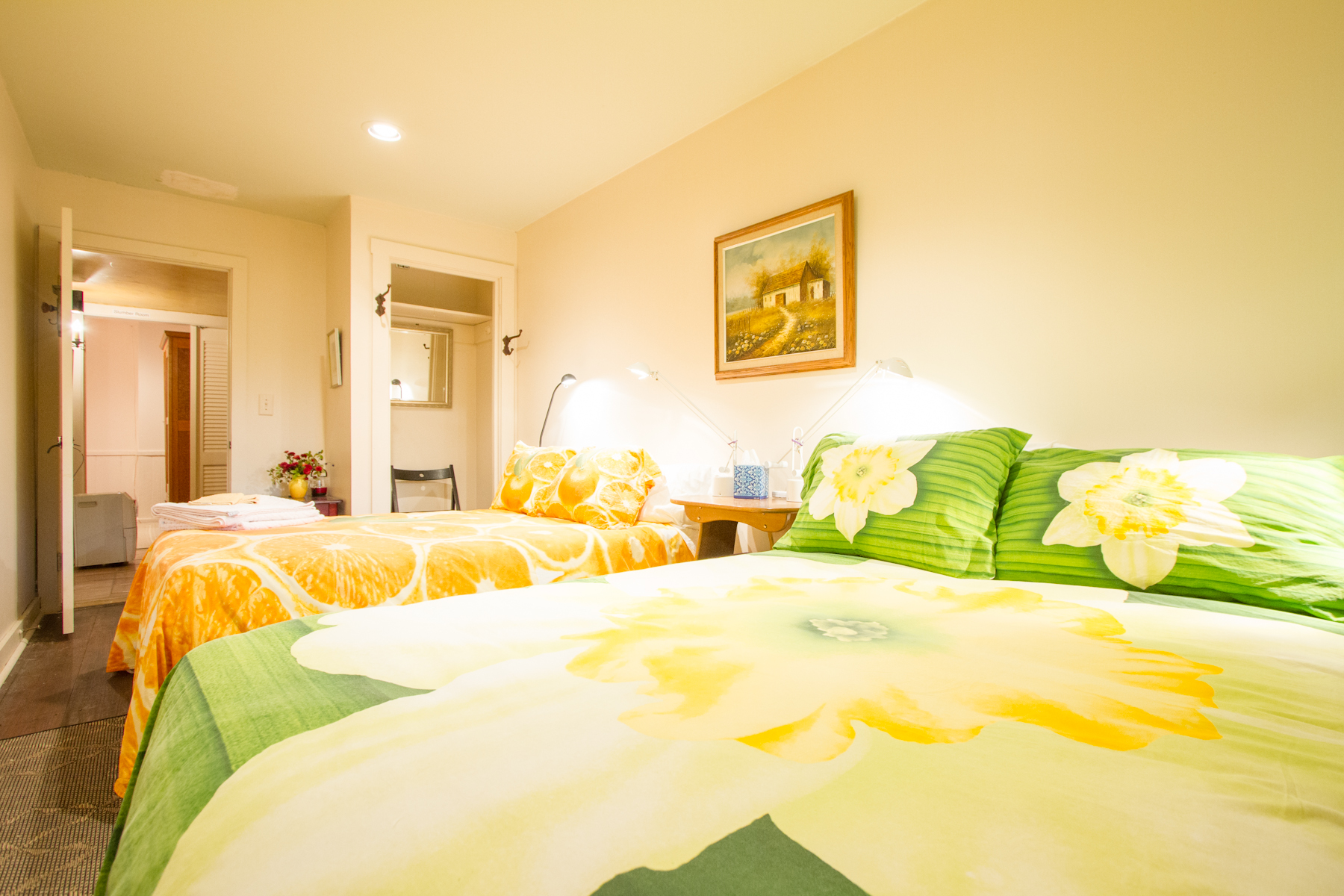 Warrior II Room (Book Private or Share) - 2 Full Bed
