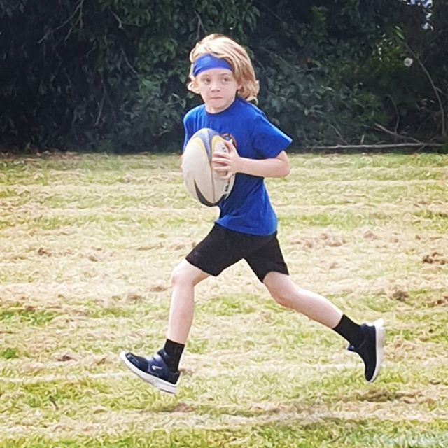 Sports Day 2019. Determination and team building relay races whilst sporting his new Wimbledon inspired sweatband... it's supposed to keep his hair from his face also but that has obviously got lost in translation 😂 He's 7 tomorrow, he knows better than me.