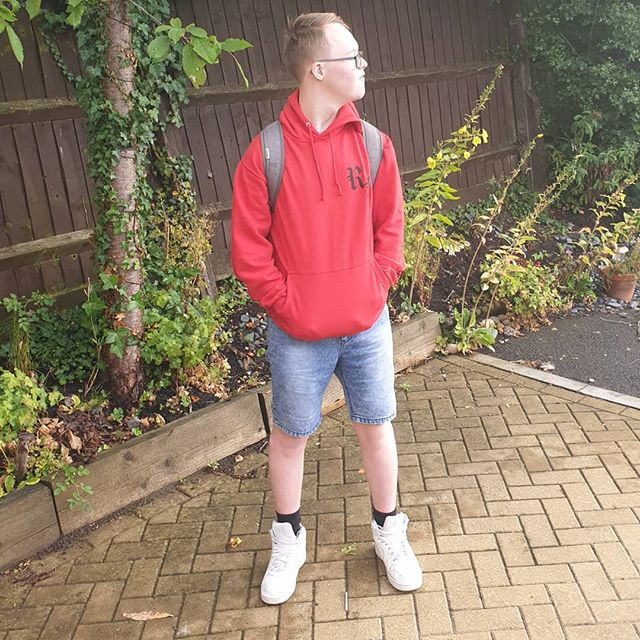 Well that's it, he's off to 6th Form. No more school uniform  for him. What with that and him being 17 in a few weeks, I think I might just puke... stop the world, I want to get off, it's going too fast! . . . #downsyndrome #rockkids #coolkids #uk #ig_kids #cutekids #happykids #love #instagood #kids #mykids #happy #kidsarethefuture #instakids #cutekidsclub #photooftheday #childhood #family #pbloggers #brothers #specialneeds #siblings