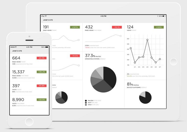 Web Analytics - Statistics Reports