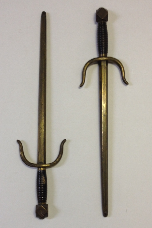 Sword guards (or sai)