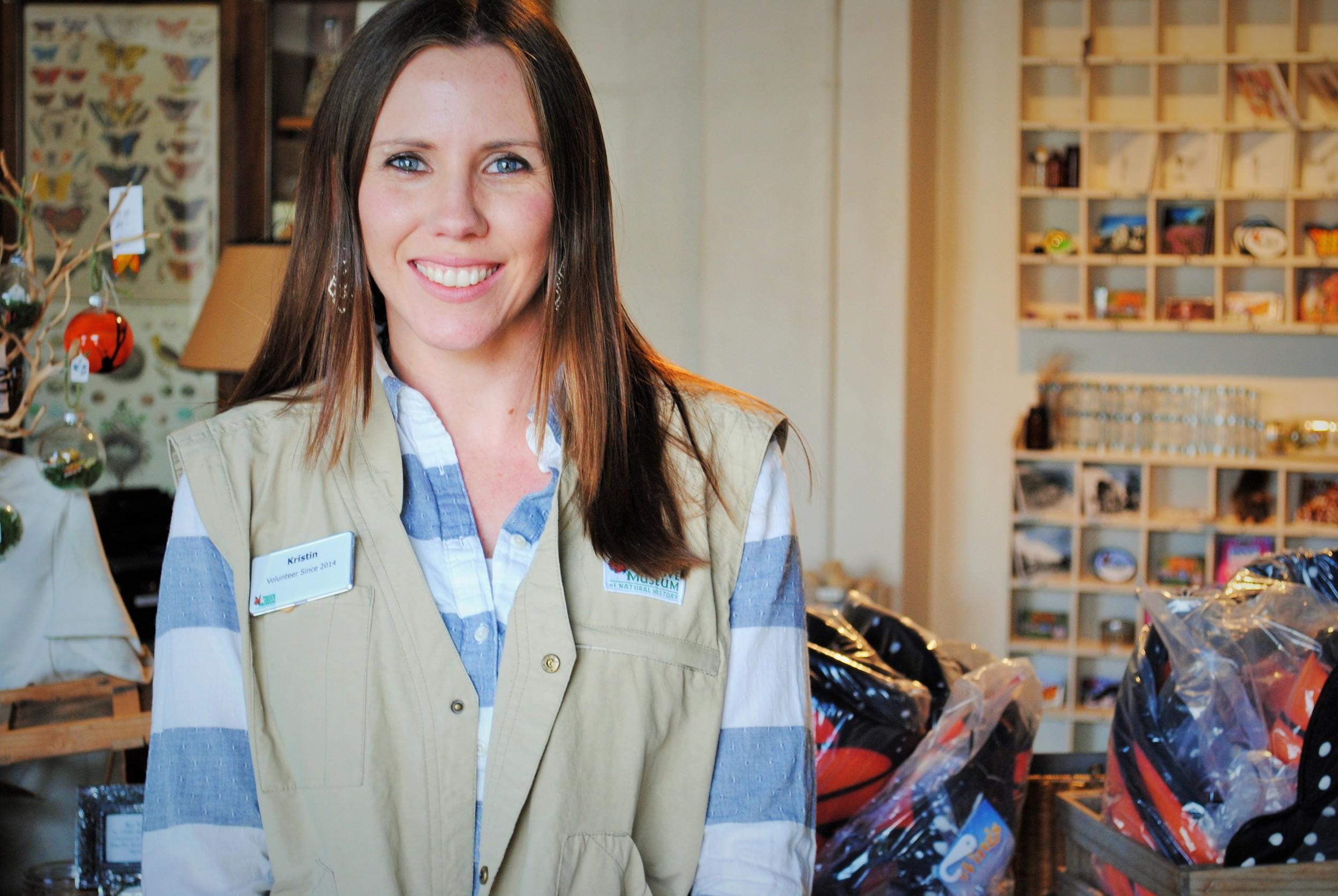 Volunteer Kristin Stephens