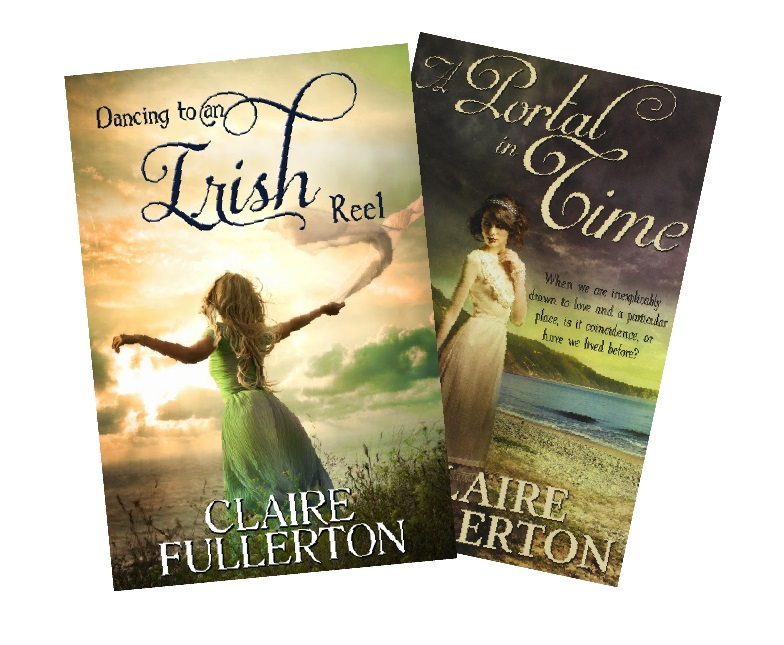 Claire Fullerton's books 'Dancing to an Irish Reel' and 'A Portal in Time' were published in 2013 and 2015by Vinspire Publishing