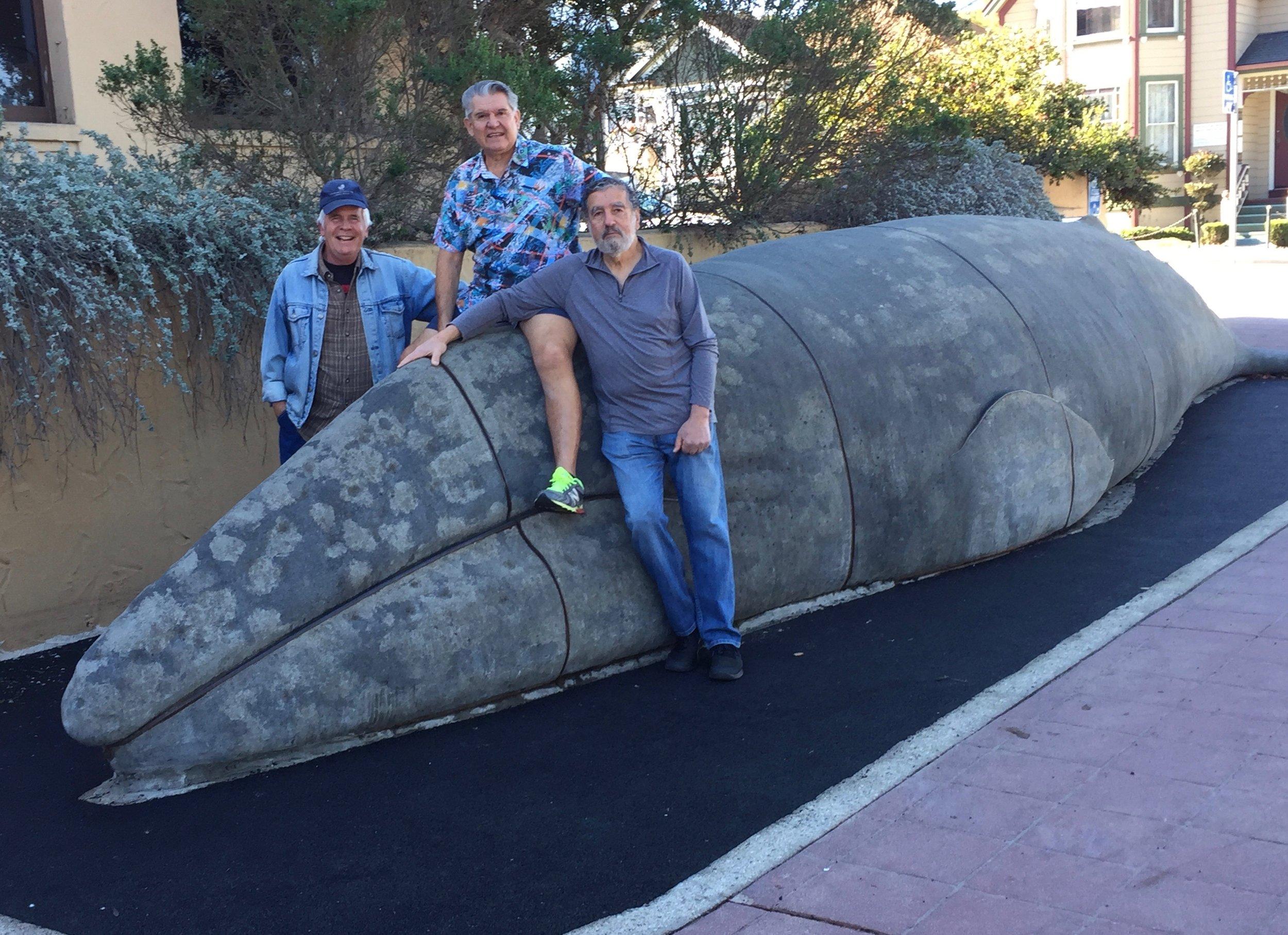 Paul Finnegan, Milos Radakovich and David Shonman - Whale Fund Campaign Team