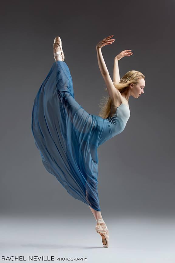 Nastia Alexandrova of City Ballet School - San Francisco.Amy Seiwert Choreography, 2015.Rachel Neville Photography.