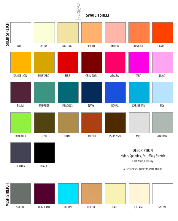 *All colors/fabrics subject to availability. Contact  S-Curve  for custom options.