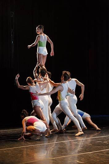 "Myles Thatcher's ""Body of Your Dreams"", December 2015. Rolex Arts Initiative. Dancers of San Francisco Ballet. Photo: ©ROLEX/BART MICHIELS."