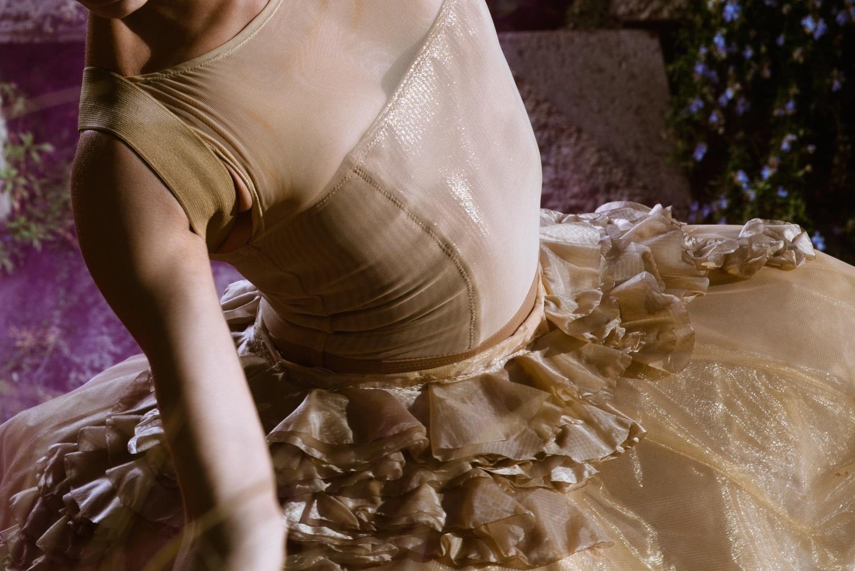 "S-Curve Apparel & Design ""Quintessence Collection"", 2013. Model: Kara Wilkes. Photo: Quinn Wharton."