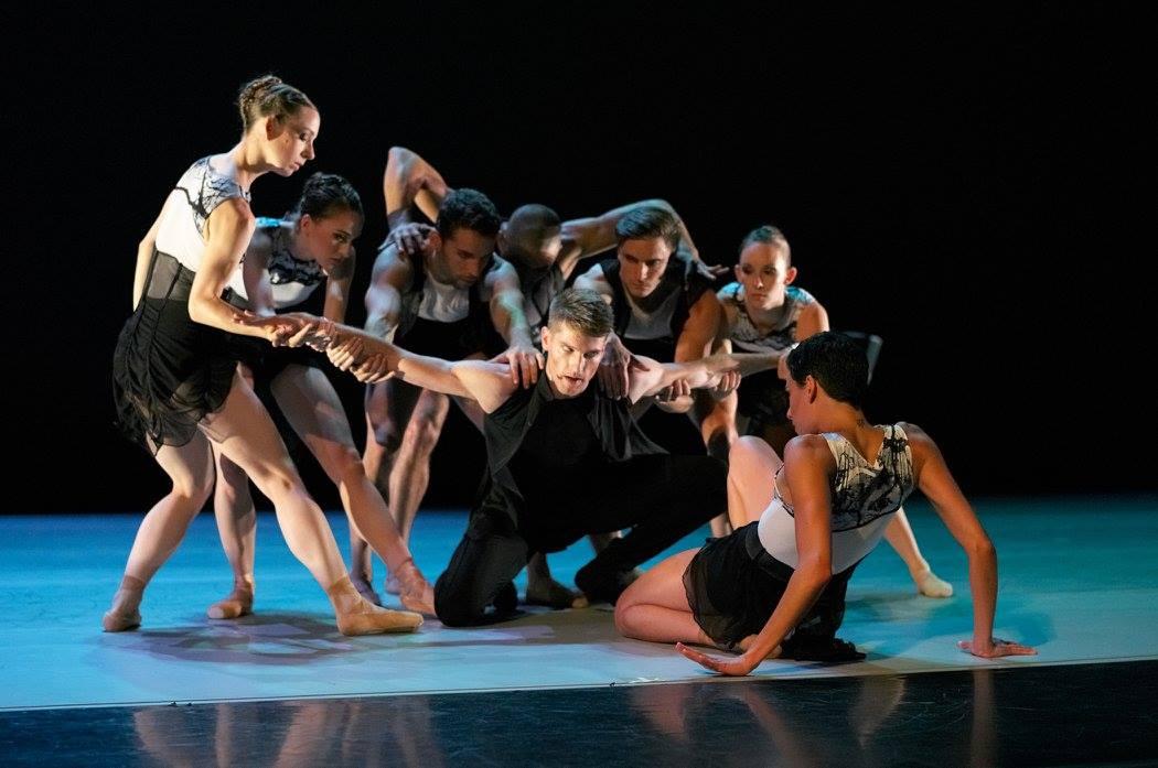 "Amy Seiwert's ""Instructions"", July 2016. Dancers: Amy Seiwert's Imagery. Photo: David DeSilva."